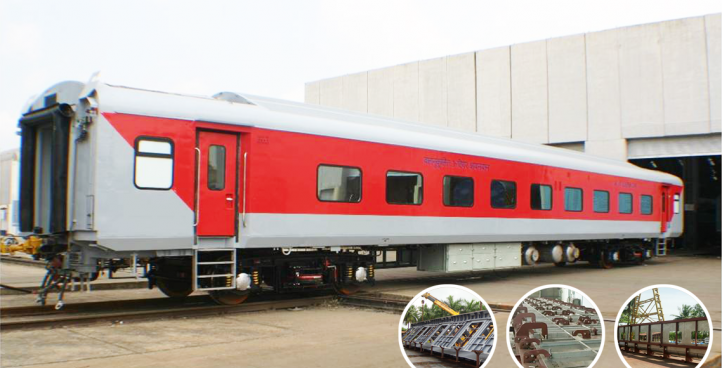 Railway Coaches and Coach Components